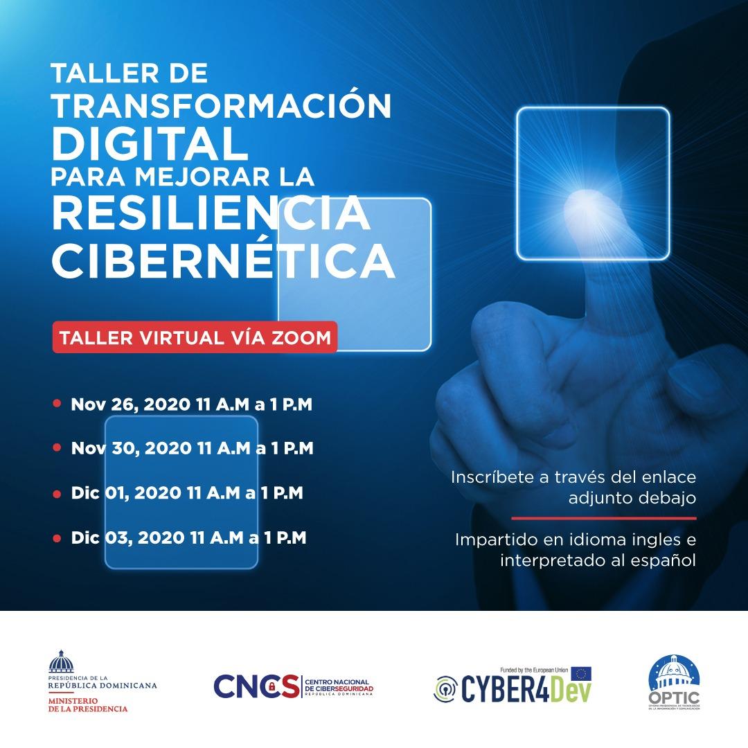 Curso de transformación Digital Para Mejorar La Resiliencia cibernética