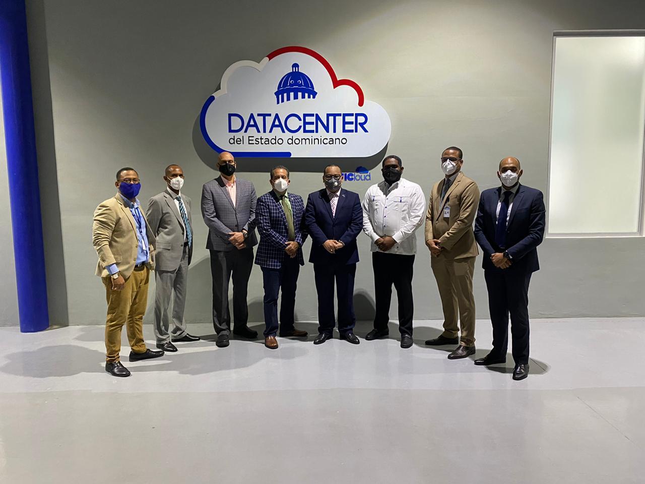 Visita del Centro Nacional de Ciberseguridad al Data Center del Estado Dominicano